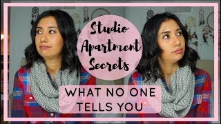 STUDIO APARTMENT SECRETS | The Worst Things About Living in a Studio