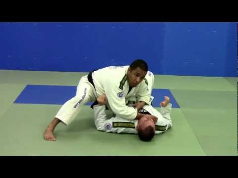 Cross Choke - Side Control Submissions - Gracie Brazilian Jiu Jitsu Techniques Image 1
