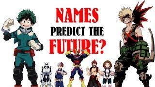 How HERO NAMES Predict FUTURE EPISODES (My Hero Academia, Season 2 Episode 13 Theory, BNHA)