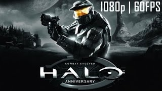Halo Combat Evolved Master Chief Collection 60FPS Game Movie (All Cutscenes) 1080p HD