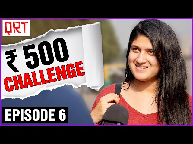WORLDS FAMOUS BRAND NAMES QUIZ  Girls on ZARA FASHION  FUNNY IQ TEST  Rs. 500 Street Challenge