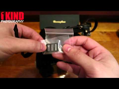 How to Install Herringbone Heritage Leather Hand Strap on your DSLR Camera 720p