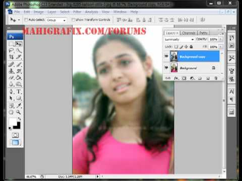 Soft Skin Effect-phtoshop Tutorial(telugu).mp4 video