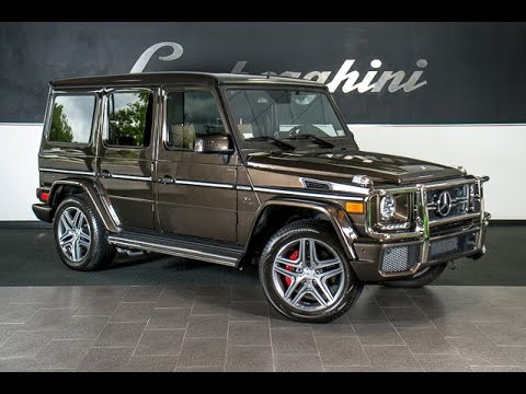 2014 mercedes benz amg g63 wagon dakota brown lt0687 youtube for Mercedes benz g wagon g63