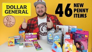 46 NEW Penny Shopping Items at Dollar General - Week of 8/14