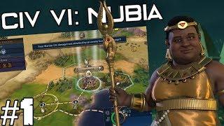 Civilization VI: Amanitore's Nubia - Episode 1: Friendly Neighbors   Nubia Civilization DLC