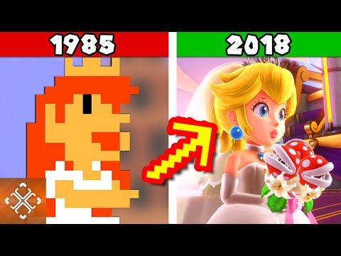Evolution of Video Games In 3 Minutes Or Less (1940-2018)