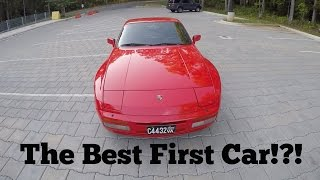 Why The Porsche 944 Turbo Is One Of The Best First Cars!!