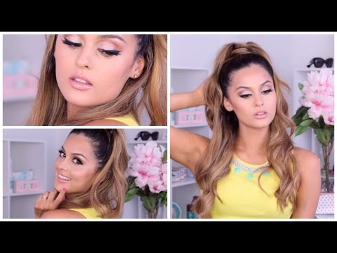 Ariana Grande Inspired Makeup/Hair/Outfit   Christen Dominique
