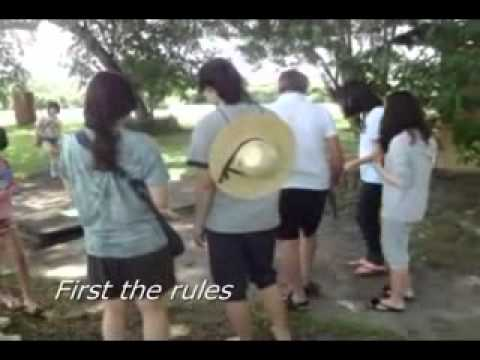 Korean learning English in Philippines at Clearwater Resort Clark Philippines near Manila