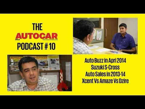 Auto Buzz, Suzuki S-Cross, Sales Analysis & More | Autocar India Podcast # 10 With Hormazd Sorabjee