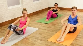 10-Minute Barre Abs Workout | Class FitSugar