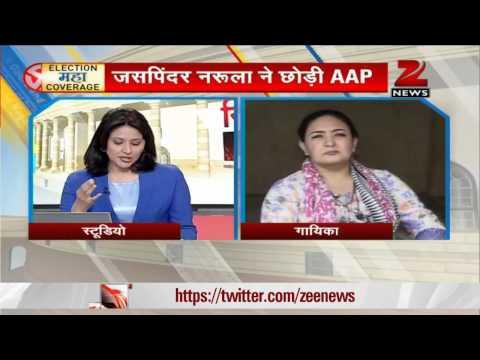Singer Jaspinder Narula quits Aam Aadmi Party