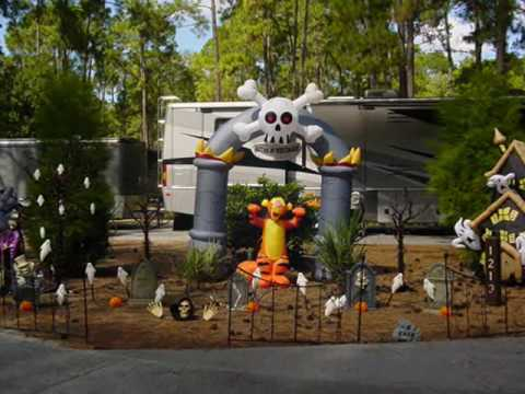 Halloween at Disney's Fort Wilderness Resort and ...