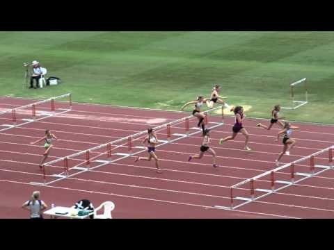 90MH Jasmine Hayes 14.22  +1.5  Sally Pearson Shield 2016