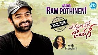 Vunnadhi Okate Zindagi Hero Ram Pothineni Exclusive Interview || Talking Movies With iDream |#535
