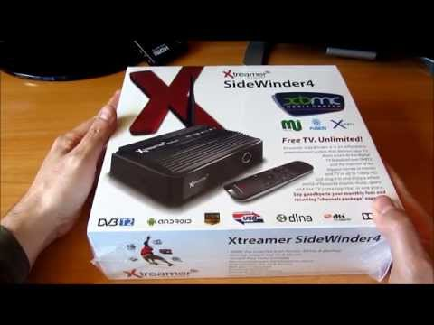 Unboxing mediacenter Xtreamer Sidewinder 4 (parte1)