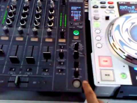 PIONEER DJM-800 EFFECTOS DEMO PARTE 1.flv
