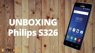 Philips S326 - unboxing