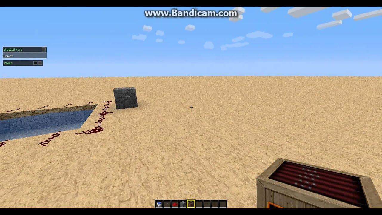 Как сделать батут в minecraft 1.5.2 - YouTube