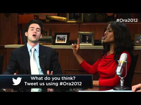 Tanya Acker & Andy Dean Argue On Middle East Policy & Allies | Ora 2012 With Larry King