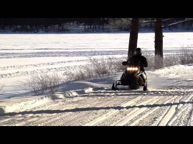 Snowmobile in Massachusetts