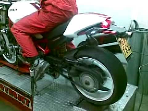 Monster S4rs Dyno Brunetti's Ducati Monster S4r