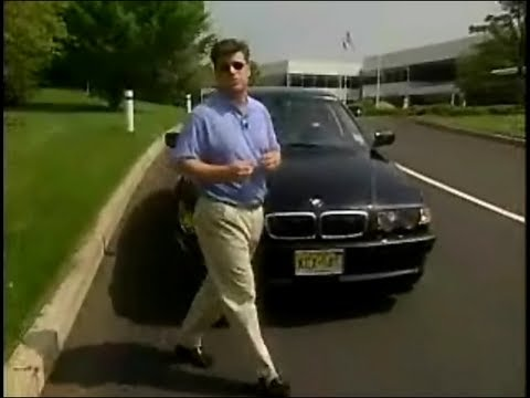 2001 BMW E38 Sales Training Video 740i 740iL 750iL