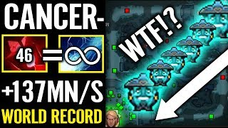 World Record!! 137Mana/s Passive REGEN Storm Spirit by canceL^^ Dota 2