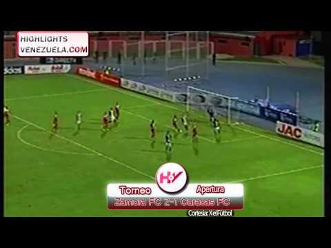 Zamora Barinas 2-1 Caracas FC
