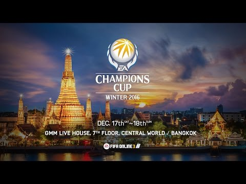 FIFA Online 3 - EA Champions Cup Winter 2016 - Day 1