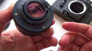 ZENIT 12SD SLR Film Camera M42 mount + MC HELIOS 44M 6 Lens #91009147