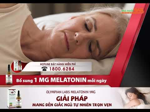 Olympian Labs Melatonin 1MG – Cho giấc ngủ thêm trọn vẹn