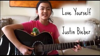 Love Yourself ~ Justin Bieber ~ Fingerstyle Guitar Cover ~ Lanvy