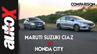 Maruti Suzuki Ciaz 1.5 Diesel vs Honda City | Comparison | autoX