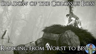Ranking the Shadow of the Colossus Bosses from Worst to Best