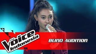 Novi - Titanium   Blind Auditions   The Voice Indonesia GTV 2018