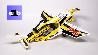 LEGO TECHNIC 42044 Stunt Plane B model Time Lapse Build