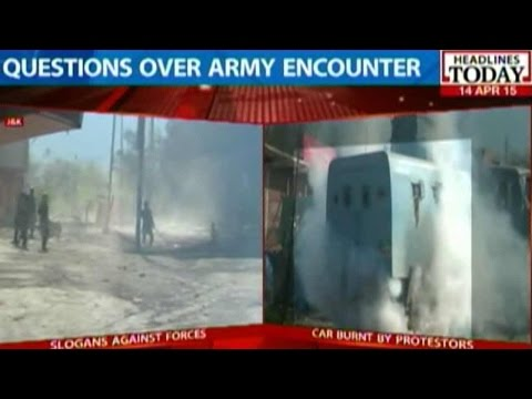 Police And Army Claims In Shooting Of 'Innocent' Man In Kashmir Encounter