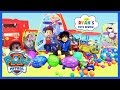 GIANT PAW PATROL SURPRISE TENT with Paw Patrol Toys Easter Eg...