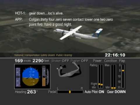 Ntsb >> NTSB Colgan Air Crash Animation Flight 3407 - YouTube