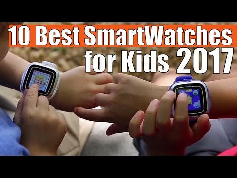 TOP 10 Best SmartWatches for Kids 2017: Wearable for your children