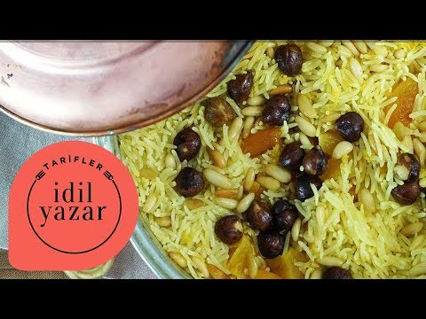 Safranlı Pilav Tarifi - İdil Tatari - Yemek Tarifleri