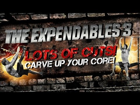 The Expendables 3 Workout- Lots Of Cuts! Carve Up Your Core! video