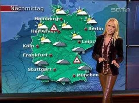 Tamara in leather pants