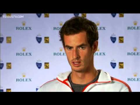 Shanghai 2012 Thursday Interview Murray