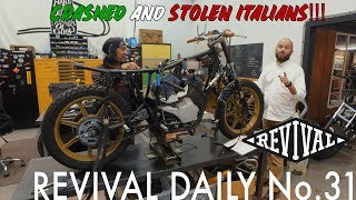 Crashed and Stolen Italian bikes! // Revival Daily No. 31