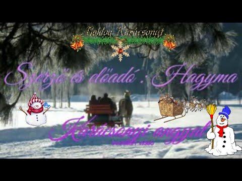 Karácsonyi angyal - Előadó-Szerző:Hagyma -klip-bodoildi