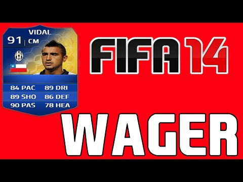 FIFA 14 WAGER - VIDAL TOTS - MISTER PRIME!