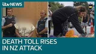 New Zealand mosque attack death toll rises to 50 as suspect appears in court | ITV News